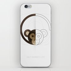 HALF (monkey) LIFE iPhone & iPod Skin