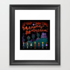 Mansion Maniacs Framed Art Print