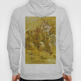 Quinces, Lemons, Pears and Grapes by Vincent van Gogh Hoody