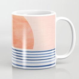 Summer Sunrise - Minimal Abstract Coffee Mug