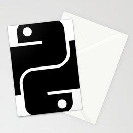 I love Python Stationery Cards