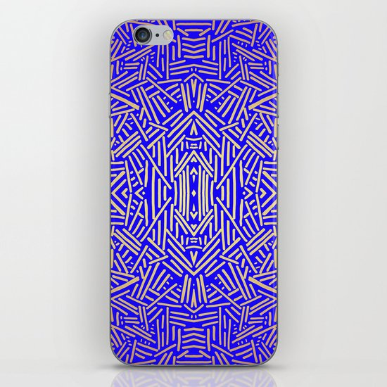 Radiate (Yellow/Ochre Royal) iPhone & iPod Skin