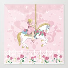 Carousel Pony Canvas Print