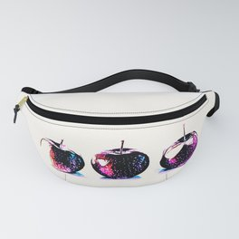 Three Red Apples Fanny Pack
