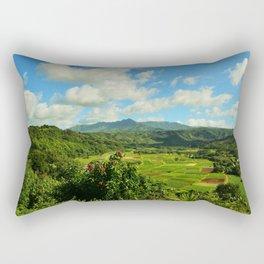 Hanalei Taro Farm Rectangular Pillow