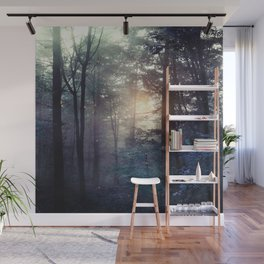 A walk in the forest Wall Mural