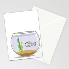 fish eye Stationery Cards
