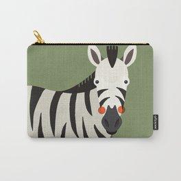 Zebra, Animal Portrait Carry-All Pouch