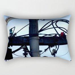 Telegraph Wires Rectangular Pillow