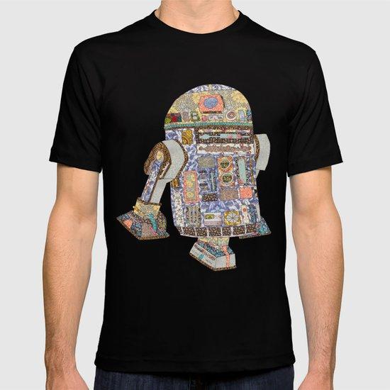 R2D2 Crashed Into A Flower Shop T-shirt