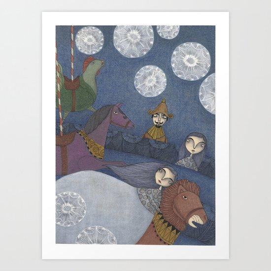 Amelia's Dream Art Print