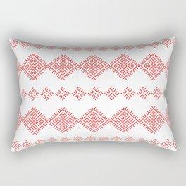 Pattern - Family Unit - Slavic symbol Rectangular Pillow