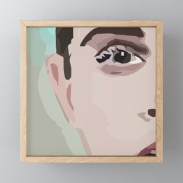 Emma Seriously Framed Mini Art Print