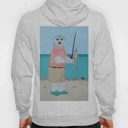 Polar Bear Fishing Hoody