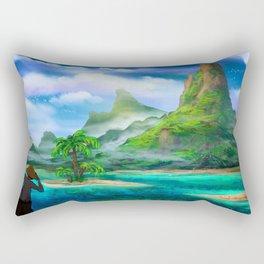 Treasure Island Rectangular Pillow