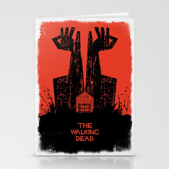 The Walking Dead. Stationery Cards