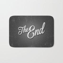 The End / poster Bath Mat