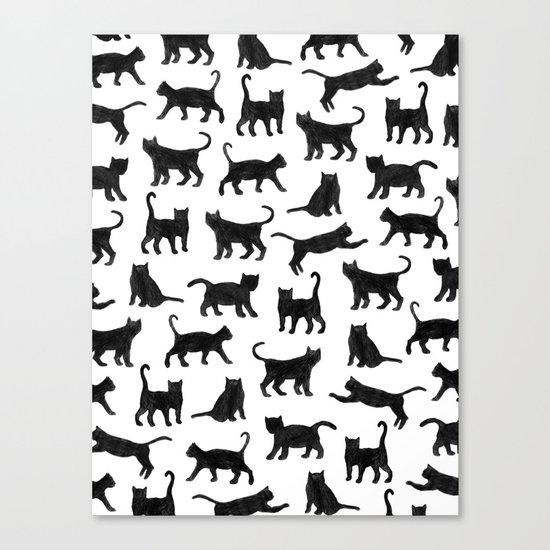 Le petits chats Canvas Print