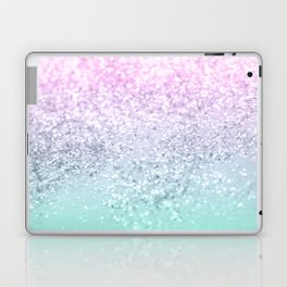 Mermaid Girls Glitter #1 (2019 Pastel Version) #shiny #decor #art #society6 Laptop & iPad Skin
