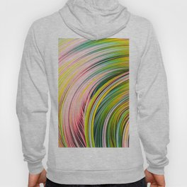 Colorful Strands. Abstract Art Hoody