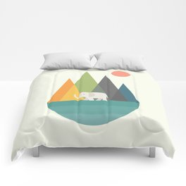 Walk In Peace Comforters
