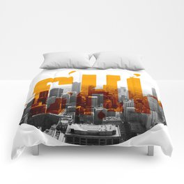 Rep your City: Chi Town Comforters