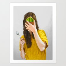 You're not mad enough Art Print
