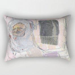 Alien goat Rectangular Pillow