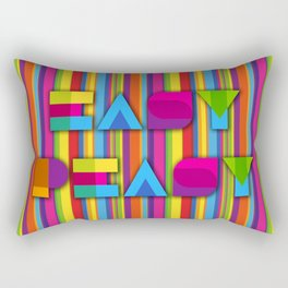 Easy Peasy Rectangular Pillow