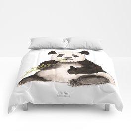 Giant Panda (ailuropoda melanoleuca) Comforters
