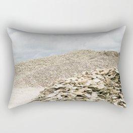 Oyster Shell Mounds, Seafood Fishing Industry, Washington, Northwest Rectangular Pillow