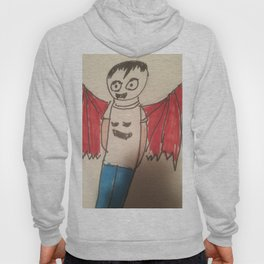 Vampire Goth kid another of my Goth fashion designs Hoody