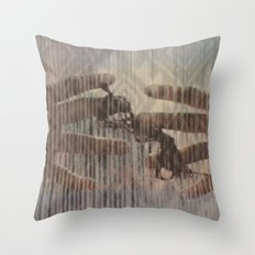 hands can hold Throw Pillow