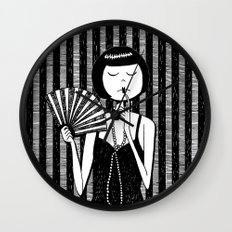 Ruby Stevens Wall Clock