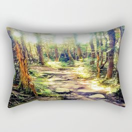 Zealand Forest Rectangular Pillow