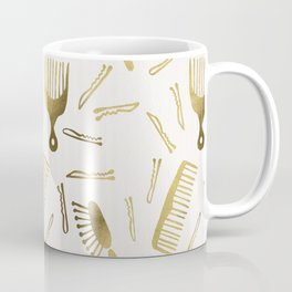 Good Hair Day – Gold Palette Coffee Mug