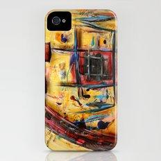 Acryl-Abstrakt 32 iPhone (4, 4s) Slim Case