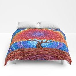 Autumn Blossoms Comforters