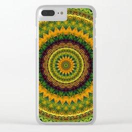 Mandala 244 Clear iPhone Case