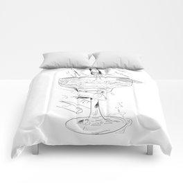 pussy margarita Comforters