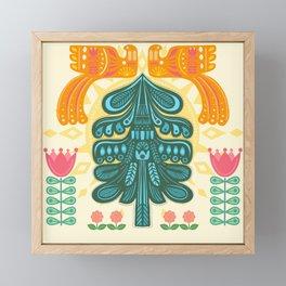 Scandinavian Summer Sunrise Framed Mini Art Print