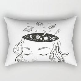 space head Rectangular Pillow