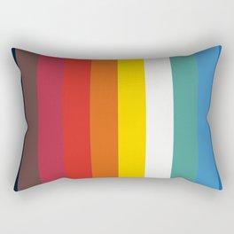 Retro Trickster B Rectangular Pillow