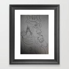 thumb Framed Art Print