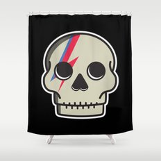 Skully Sane Shower Curtain