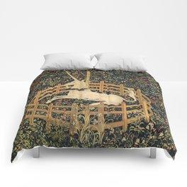 The Unicorn In Captivity Comforters