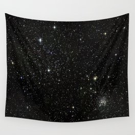 Space - Stars - Starry Night - Black - Universe - Deep Space Wall Tapestry