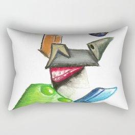 Working for the Man Rectangular Pillow