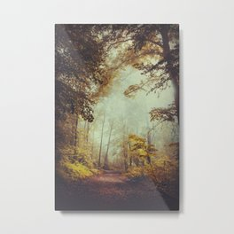 Silent Forest Metal Print