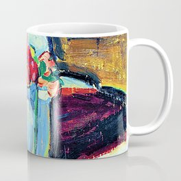 Alfred Henry Maurer - Still Life with Flowers - Digital Remastered Edition Coffee Mug
